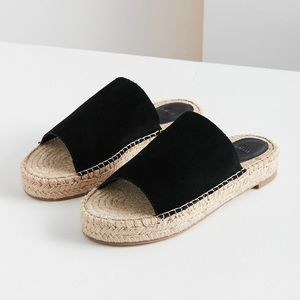 ⚡️ Urban Outfitters Black Espadrille Sandals
